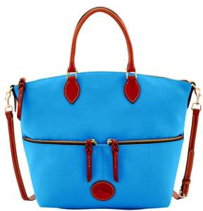 Dooney & Bourke Nylon Large Pocket Satchel - FRENCH BLUE - STYLE