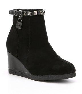 MICHAEL Michael Kors Girls Cara Key Wedge Boots