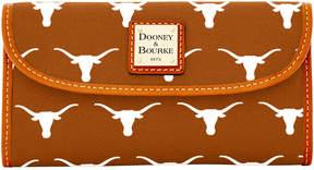 Dooney & Bourke NCAA Texas Continental Clutch - TEXAS - STYLE
