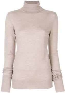Chalayan signature split neck jumper
