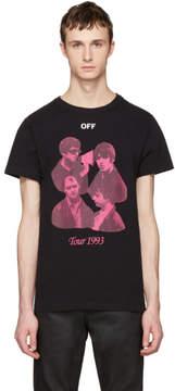 Off-White Black Tour 1993 T-Shirt