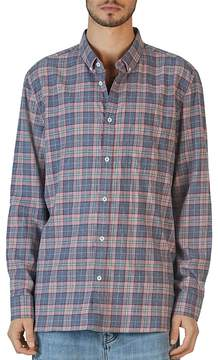 Barney Cools Cabin Long Sleeve Plaid Relaxed Fit Shirt - 100% Exclusive