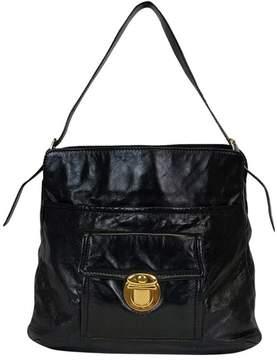 Marc Jacobs Black Leather Handbag - BLACK - STYLE