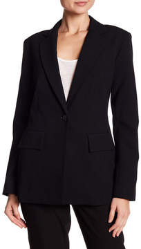 Ellen Tracy Fitted Boyfriend Blazer
