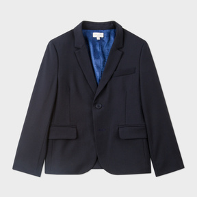 Paul Smith Boys' 2-7 Years Navy 'A Suit To Smile In' Wool Blazer