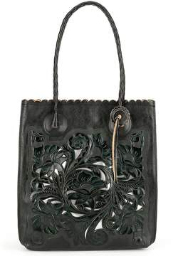 Patricia Nash Burnished Tooled Collection Cavo Tote