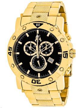 Jivago Titan JV9124XL Men's Round Gold Stainless Steel Watch