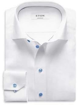 Eton Contemporary Fit Cotton Dress Shirt