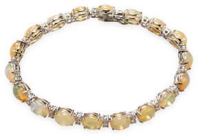 Amrapali Women's Diamond and Opal Bangle