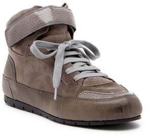 Manas Design Suede Mid Sneaker