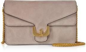 Coccinelle Ambrine Mini Suede Crossbody Bag