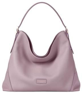 Aspinal of London | Hobo Bag In Lilac Pebble | Lilac pebble