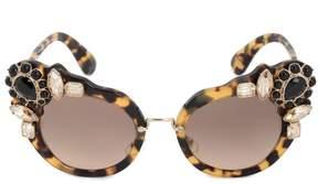 Miu Miu Butterfly Sunglasses SMU04SS 7S03D0 52