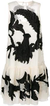 Aniye By sleeveless beaded tulle dress