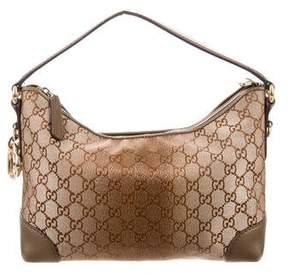 Gucci Heart Bit Small Hobo - BROWN - STYLE