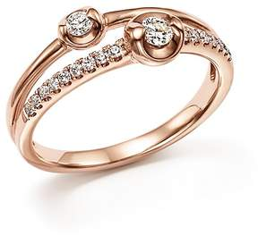 Bloomingdale's Diamond Two Stone Ring in 14K Rose Gold, .30 ct. t.w. - 100% Exclusive