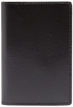 Common Projects Bi-fold pebbled-leather cardholder