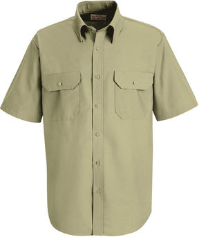 JCPenney Red Kap SP60 Dress Uniform Shirt-Big & Tall