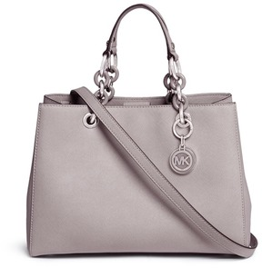 Michael Kors 'Cynthia' medium saffiano leather satchel - ONE COLOR - STYLE