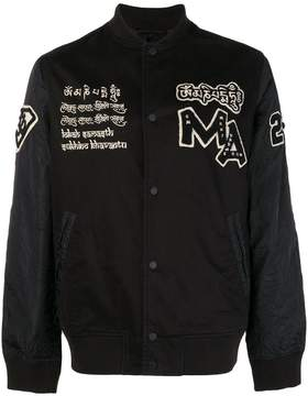 MHI buttoned bomber jacket