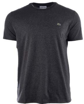 Lacoste Crew Neck Pima Cotton Jersey T-Shirt - Urban Grey - Mens - 8