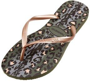 Havaianas Women's Slim Animal Flip Flop 8135496