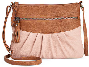 Style & Co Magggi Pleated Crossbody, Created for Macy's