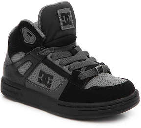 DC Boys Rebound Toddler & Youth High-Top Sneaker