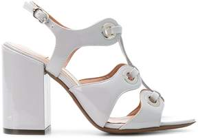 L'Autre Chose eyelets strappy sandals