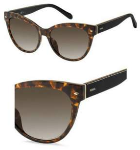 Fossil 2058/S Sunglasses 0086 54 Havana (HA brown