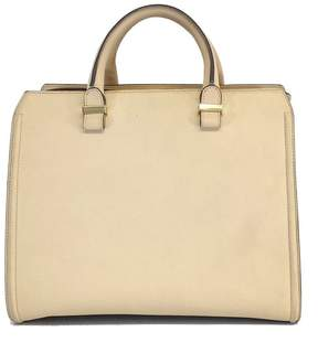 Victoria Beckham Taupe Buffalo Leather Victoria Handbag