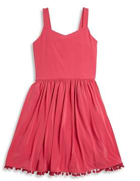 Un Deux Trois Girl's Sleeveless Knit Dress