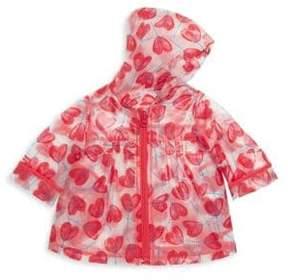 Catimini Baby's& Toddler's Tulip Print Rain Jacket