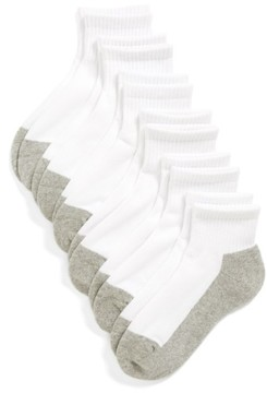 Tucker + Tate Boy's 6-Pack Active Quarter Socks