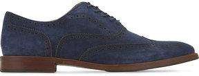 Aldo Bartolello-R suede Oxford shoes