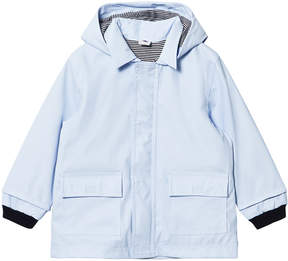 Petit Bateau Blue Oilskin Jacket