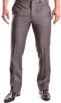Galliano Men's Brown Wool Pants.