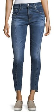 AG Jeans The Farrah Ankle High-Rise Skinny Jeans