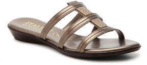 Italian Shoemakers Women's Jewel Metal Sandal