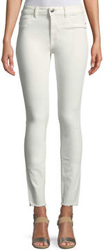 DL1961 Premium Denim Farrow Instaslim Skinny Ankle Jeans, Eggshell