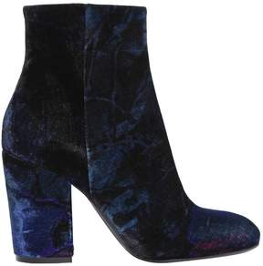 Strategia 90mm Velvet Ankle Boots