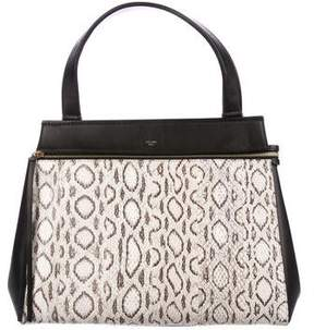 Celine Snakeskin Medium Edge Bag