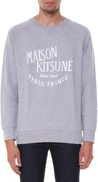 Kitsune Printed Sweatshirt