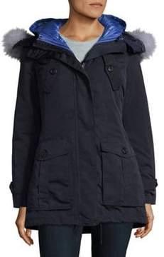 1 Madison Fox Fur Versatile Parka Jacket