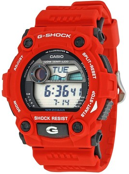 Casio Men's G-Shock Rescue Red Digital Sport Watch
