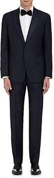 Giorgio Armani Men's Satin-Trimmed Wool One-Button Tuxedo