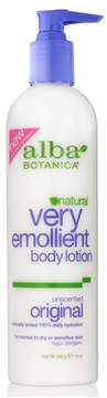 Very Emollient Original Unscented Body Lotion by Alba Botanica (12oz Lotion)