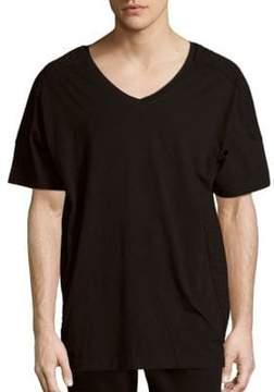 Pierre Balmain Solid Cotton T-Shirt