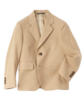 Brooks Brothers Boys' Khaki Suit Jacket