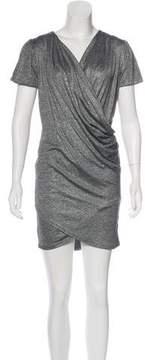 Nightcap Clothing Metallic Mini Dress
